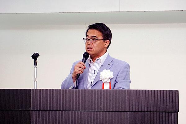 愛知県ITS推進協議会 会長 愛知県知事 大村秀章